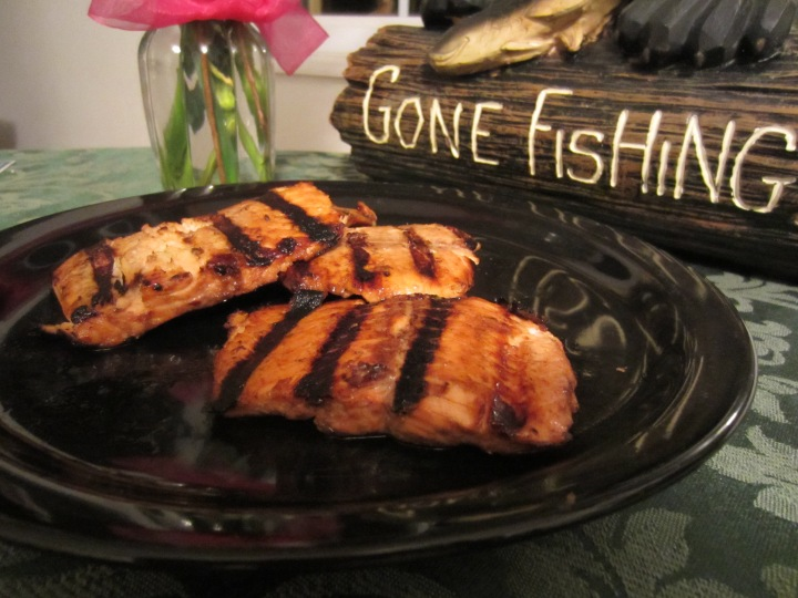 Grilled Sweet Salmon