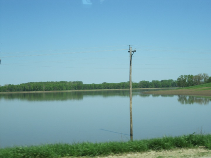 Illinois Farm Under Water, Spring 2013, Photo Courtesy of Kevin Wright