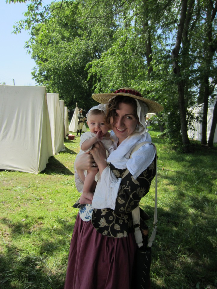 Kathleen and Ginny at the Spirit of Vincennes 2013