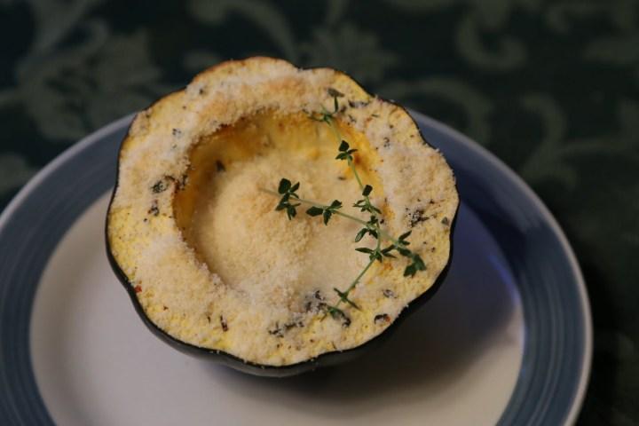 Savory Acorn Squash Bowl - 143 Calories per Serving