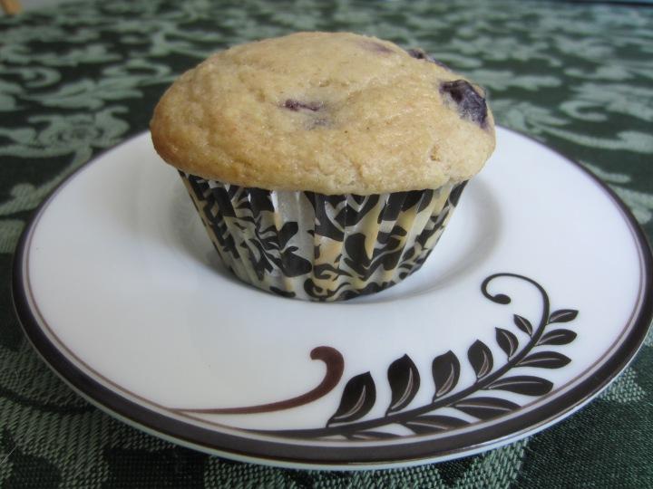 Blueberry Heart Smart Muffins