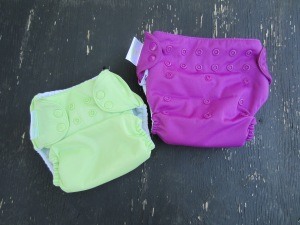 One Size Cloth Diapers: Exact Same Diaper, Different Snap Setting