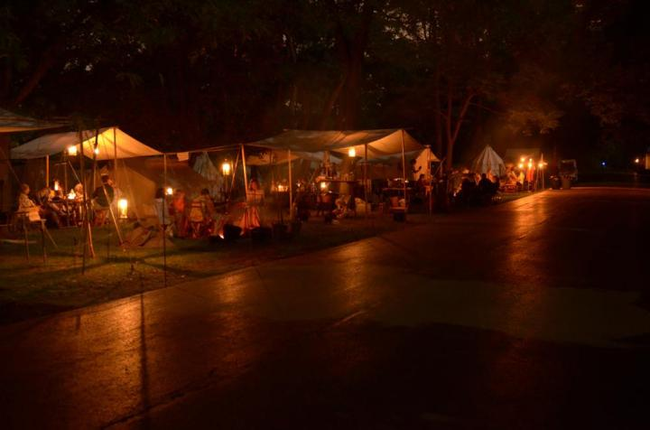 Cantigny Event 2011, Evening Photo