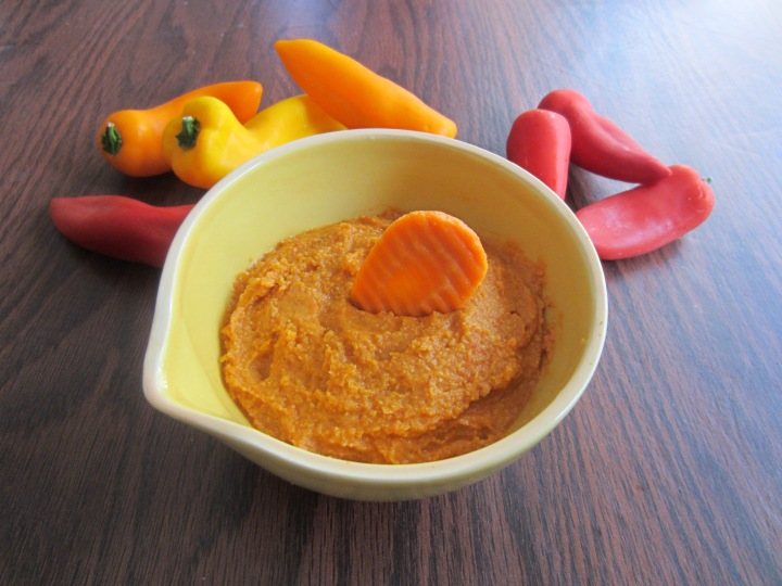 Reduced Fat, Roasted Red Pepper Hummus - 55 calories per serving