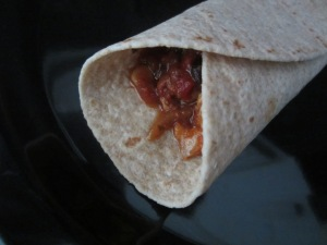 The leftovers are great the next day for lunch - just tear up the chicken and serve in a whole wheat tortilla.