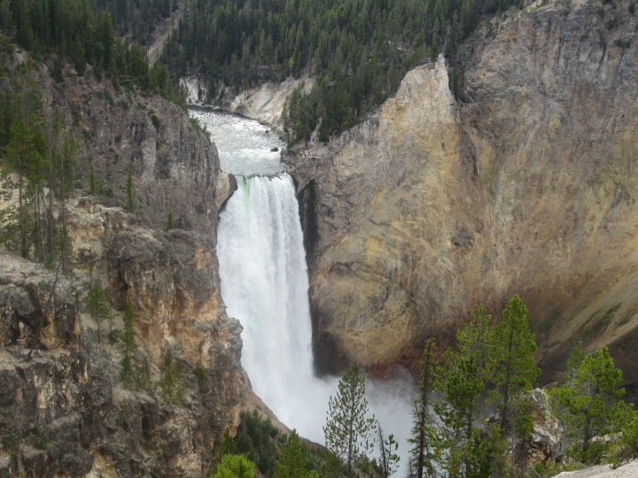 Our elevation when we took this picture at Yellowstone Canyon was very high...maybe that made a difference.