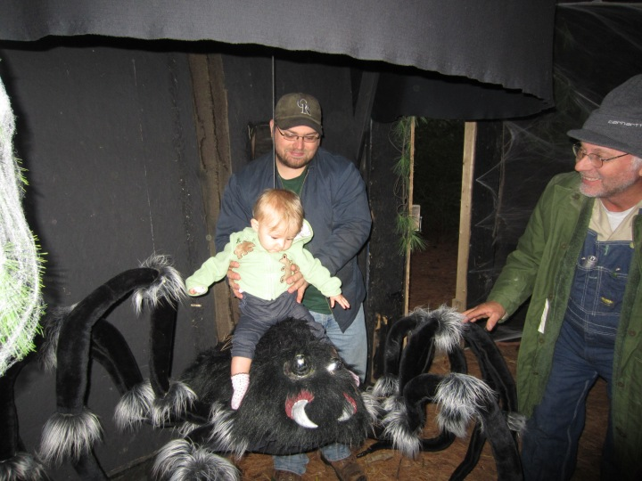 Ginny's Spider Ride at Haunted Happenings