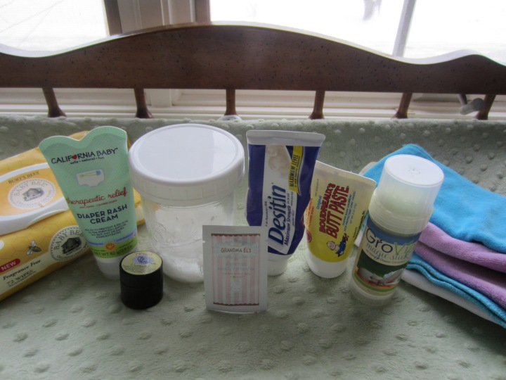 My Diaper Rash Care Stash
