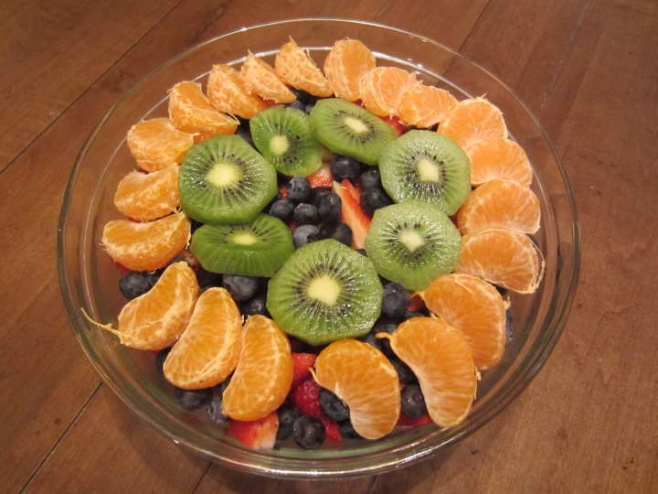 Getting a colorful variety of phytonutrients can be as easy as eating a fruit salad!