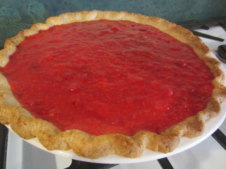 Radiant Raspberry Pie - 237 calories per slice