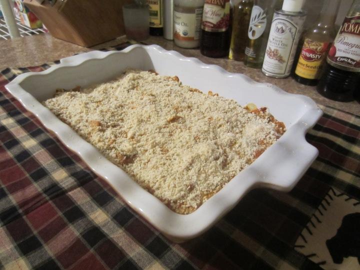 Pumpkin Gouda Casserole - 209 calories per serving