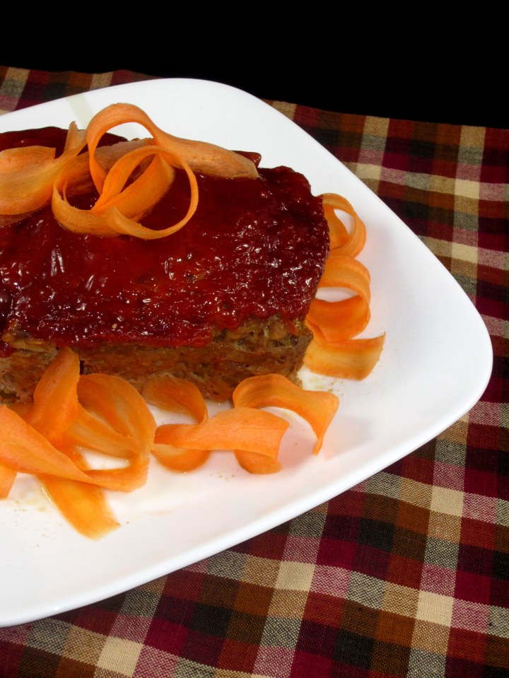 Lean Microwave Meatloaf in 10 Minutes vertical