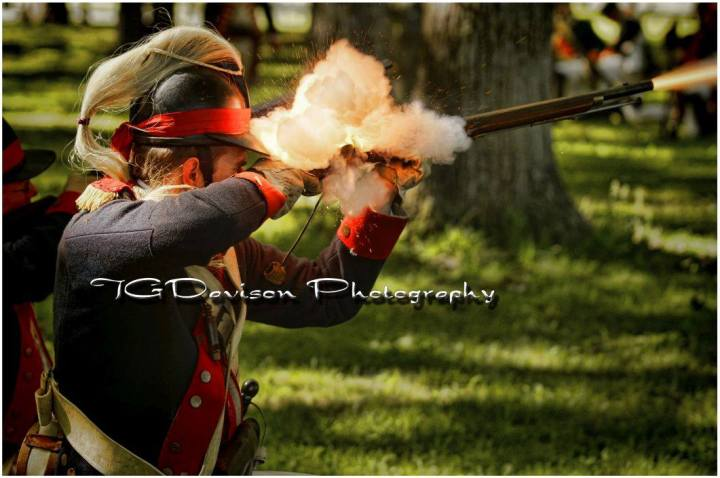 1st Dragoons in action. Photo Courtesy of TG Davison Photography
