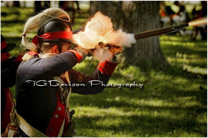 1st Dragoons in action. Photo Courtesy of TG Davison Photography