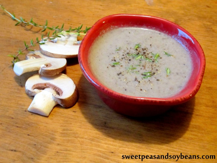 Cream of Mushroom Soup 2