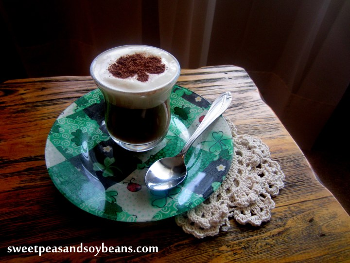 Lighter Sweet and Creamy Irish Coffee- 169 calories per serving