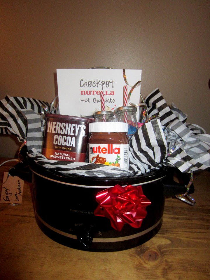 Nutella Hot Chocolate Slow Cooker Gift (3)