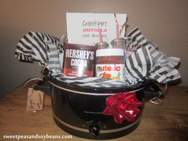 Nutella Hot Chocolate Slow Cooker Gift (5)